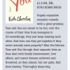 Bookseller review of Miss You